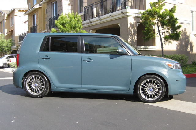 recommended tire size for 17 scion aftermarket wheels scion xb forum. Black Bedroom Furniture Sets. Home Design Ideas