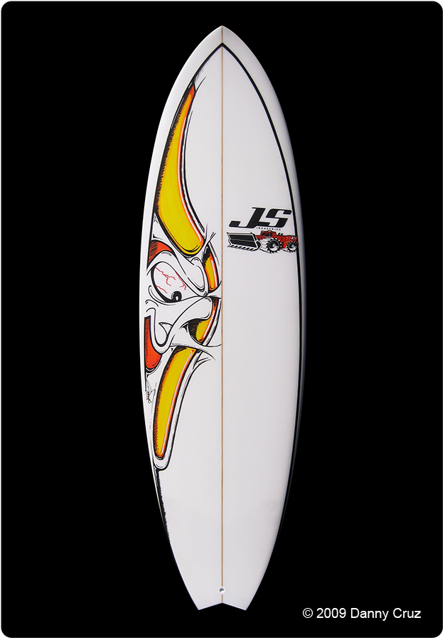 Surf Art Js Surfboards Sonic Fish Dannycruz Com