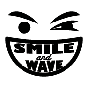 Smile and Wave Logo Post