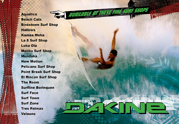 Mundo Rad Ad for Dakine