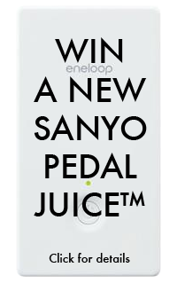 Sanyo Pedal Juice Contest Image