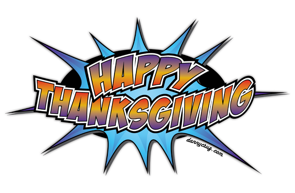 Thanksgiving Vector Logo Artwork