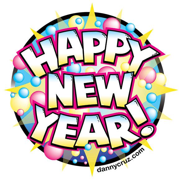 Happy New Year Vector Artwork