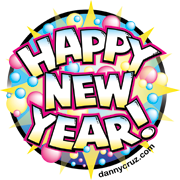 Happy New Year Vector Art Post Image