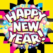 Happy New Year Vector Art Post Image