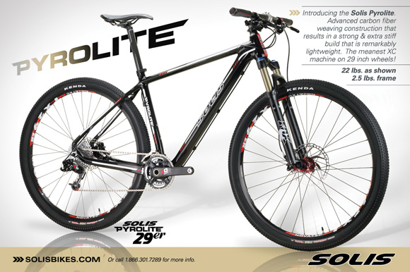 29er Mountain Bike Ad in Mountain Bike Action Magazine