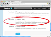 Protected Tweets Twitter Profile Settings