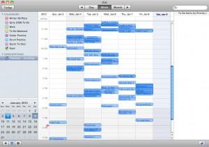 Twistory Fed iCal Calendar