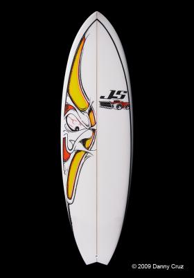 Art on a JS Surfboard