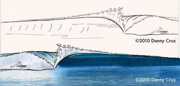 Big Wave Sketch