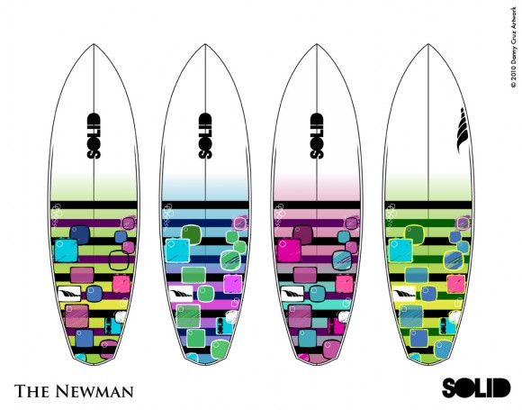 Artwork for a Surfboard