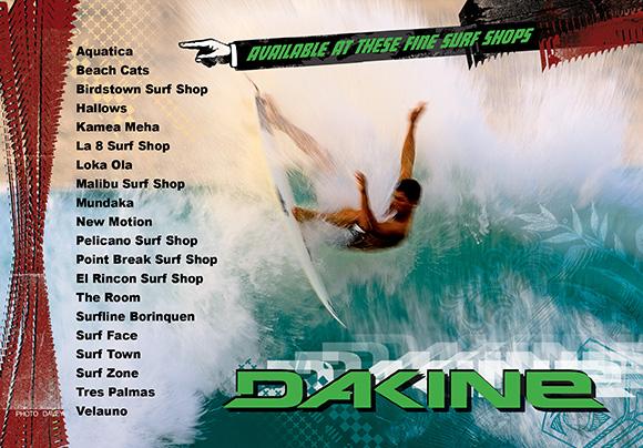 Mundo Rad Ad for Dakine