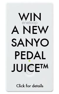 Sanyo Pedal Juice Contest Image