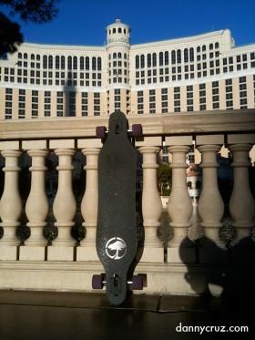 Skateboard at the Bellagio