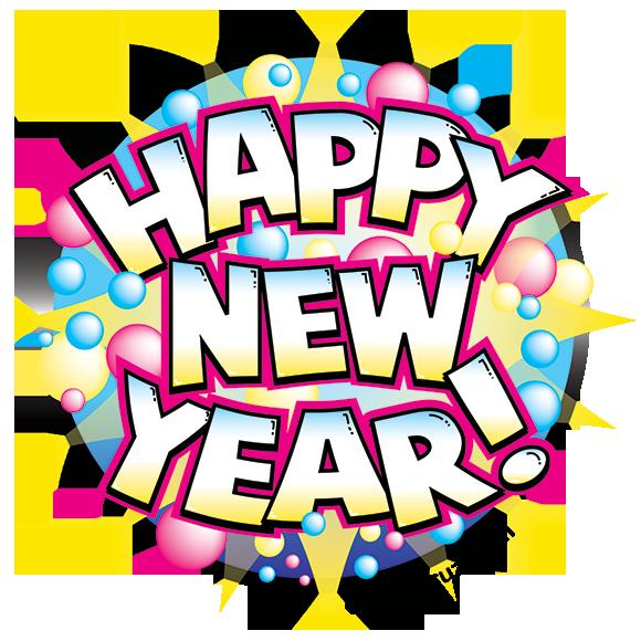 Happy New Year Vector Artwork