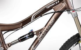 Mountain Bike Graphics Frame Forward Triangle