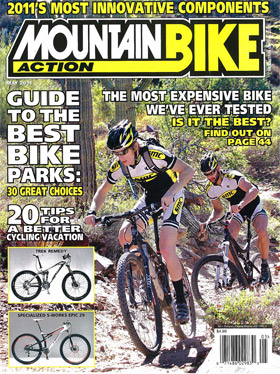 Mountain Bike Action Magazine May 2011 Cover