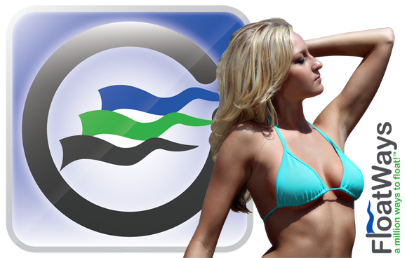 Jessica Swimsuit with FloatWays Logo